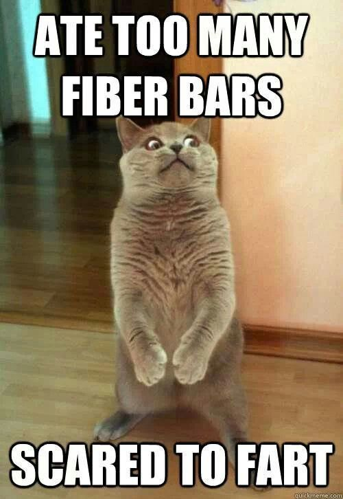 Fiber Scared to Fart